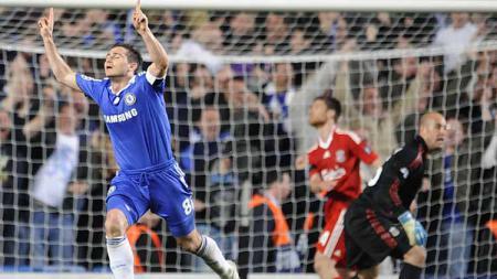 Mengenang laga terdramatis sepanjang sejarah Liga Champions antara Chelsea vs Liverpool pada musim 2008/09. - INDOSPORT