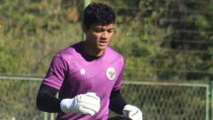 Indosport - Muhammad Adisatryo, Kiper Timnas U-19.