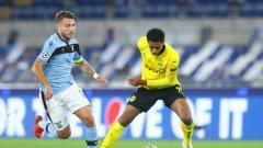 Indosport - Lazio Tumbangkan Dortmund, Simone Inzaghi Beri Pujian Ke Ciro Immobile