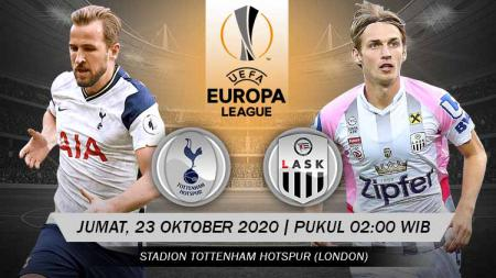 Beriku prediksi pertandingan Liga Europa antara Tottenham Hotspur vs LASK Linz. - INDOSPORT