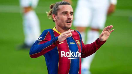Media Spanyol singgung pesan sarat rasis ke Ansu Fati, Antoine Griezmann langsung murka pasca laga Liga Champions Barcelona. - INDOSPORT