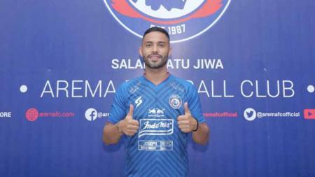 Arema FC memperkenalkan Bruno Smith sebagai penggawa asing baru jelang lanjutan Liga 1. - INDOSPORT