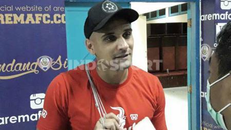 Pemain asing Madura United asal Brasil, Bruno Lopes. - INDOSPORT