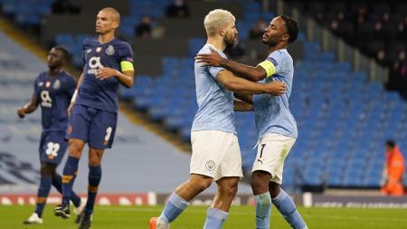 Berikut hasil pertandingan matchday 1 Grup C Liga Champions, Kamis (22/10/20), di mana Manchester City menang 3-1 atas Porto meski sempat tertinggal lebih dulu. - INDOSPORT