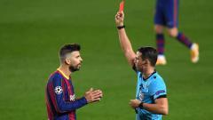 Indosport - Di usianya yang sudah memasuki 34 tahun, Gerard Pique menjadi beban Barcelona di partai besar ajang Liga Champions.