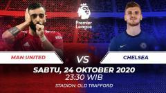 Indosport - Manchester United vs Chelsea di pekan lanjutan Liga Inggris, berikut prediksi lengkapnya.