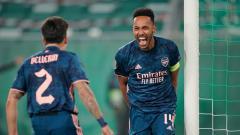 Indosport - Berikut hasil pertandingan antara Rapid Wien vs Arsenal dalam matchday pertama Grup B Liga Europa 2020/21, Kamis (22/10/20) malam WIB.