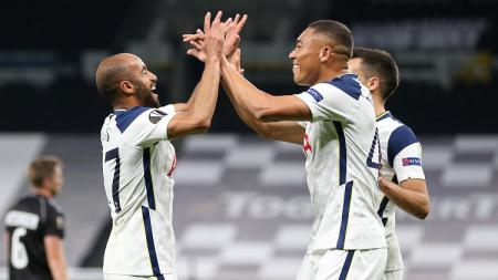 Berikut hasil pertandingan Liga Europa antara Tottenham Hotspur vs LASK, Jumat (23/10/20) dini hari WIB, di mana tuan rumah meraih kemenangan telak 3-0. - INDOSPORT