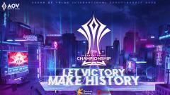 Indosport - Game eSports Arena of Valor kembali memeriahkan agenda akhir tahun. Paska pandemi Covid-19, turnamen AOV kelas internasional kembali digelar.