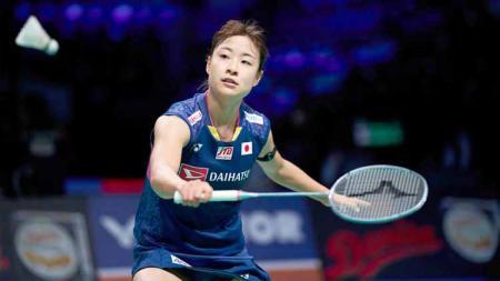 Pebulutangkis tunggal putri Jepang, Nozomi Okuhara inginkan atmosfer Indonesia di Olimpiade Tokyo tahun 2021 mendatang. - INDOSPORT