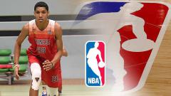 Indosport - Derrick Michael, calon bintang basket NBA asal Indonesia.