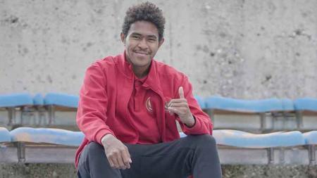 Striker Timnas Indonesia U-19, Braif Fatari. - INDOSPORT