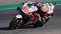 Indosport - Pembalap MotoGp Takaaki Nakagami asal Jepang di Sirkuit Motorland Aragon, Jumat (23/10/2020) Spanyol.