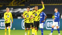 Indosport - Berikut hasil pertandingan antara Borussia Dortmund vs Schalke dalam lanjutan pekan ke-5 Bundesliga Jerman 2020/21, Sabtu (24/10/20) malam WIB.