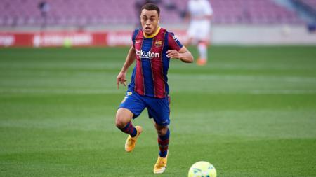 Barcelona dikabarkan bakal menggunakan formasi ini untuk menghancurkan Osasuna di LaLiga Spanyol 2020-2021 usai Sergino Dest dipastikan ikut tampil. - INDOSPORT