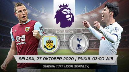 Berikut prediksi pertandingan Liga Inggris Burnley FC vs Tottenham Hotspur. - INDOSPORT