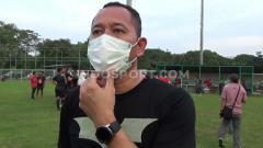 Indosport - Direktur Teknik Sriwijaya FC, Indrayadi.