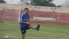 Indosport - Pemain asing PSIS Semarang dari Palestina, Jonathan Cantillana.