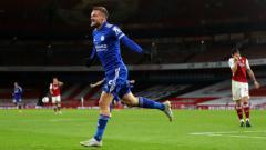 Indosport - Top skor Liga Inggris hari ini: Harry Kane ketar-ketir, Jamie Vardy akhirnya 'buka puasa' gol.