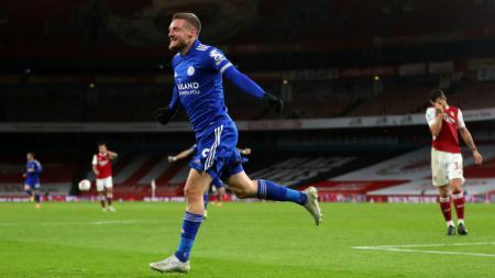 Top skor Liga Inggris hari ini: Harry Kane ketar-ketir, Jamie Vardy akhirnya 'buka puasa' gol. - INDOSPORT