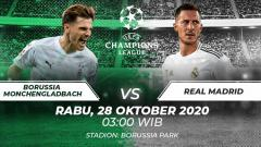 Indosport - Borussia Monchengladbach vs Real Madrid.