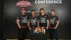 Indosport - Konferensi pers Celebrity Superstars Battle.