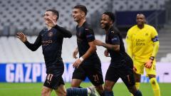 Indosport - Berikut hasil pertandingan matchday 2 Grup C Liga Champions, di mana Manchester City menang telak 3-0 di kandang Marseille.