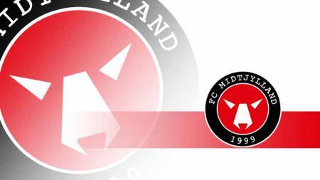 Logo FC Midtjylland. - INDOSPORT