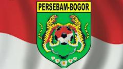 Indosport - Logo klub Liga 3, Persebam Bogor.