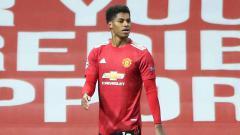 Indosport - Kabar Baik, Marcus Rashford Akan Segera Comeback di Manchester United.