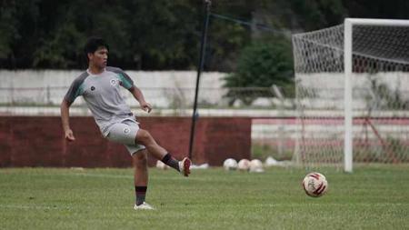 Wonderkid milik klub Liga 2 2020 Sulut United, Daud Kotulus. - INDOSPORT