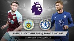 Indosport - Link live streaming pertandingan Burnley FC vs Chelsea (Liga Primer).