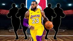 Indosport - LeBron James.