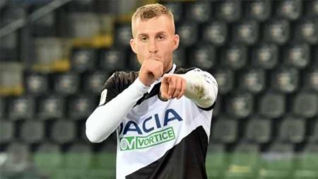 Pemain Udinese ini mengatakan bahwa dirinya siap melakukan 'pembalasan dendam' terhadap AC Milan jelang pertandingan Serie A Liga Italia 2020-2021. - INDOSPORT