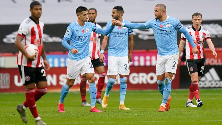 Hasil Liga Inggris Sheffield United vs Manchester City: Walker Jadi Pahlawan The Citizens