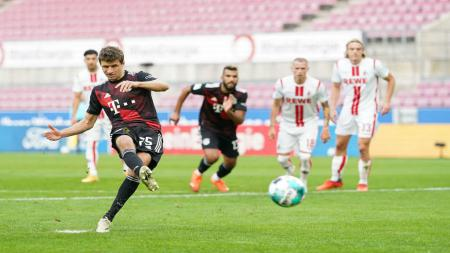 Berikut hasil pertandingan pekan keenam Bundesliga Jerman di mana Bayern Munchen yang tampil tanpa Robert Lewandowski menang tipis 2-1 atas FC Koln. - INDOSPORT
