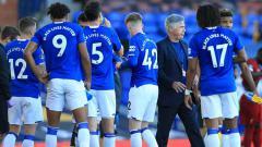Indosport - Terselip tiga alasan mengapa Everton dapat menumbangkan Manchester United di Goddison Park dalam panjutan pekan kedelapan Liga Inggris 2020-2021.