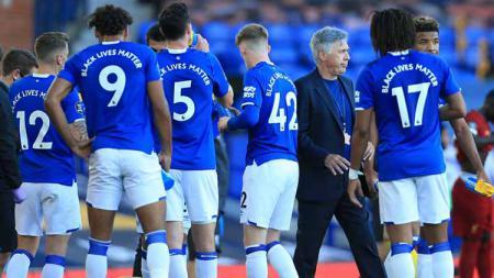 Ketika Everton kehilangan daya magis usai mengasari Liverpool. - INDOSPORT
