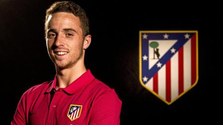 Diogo Jota saat masih bermain untuk Atletico Madrid - INDOSPORT