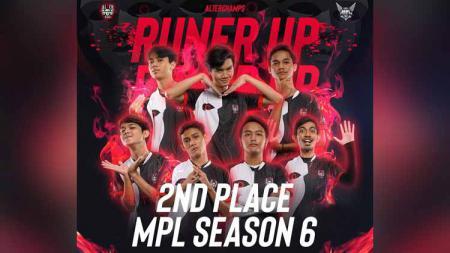 Alter Ego berhasil menjadi runner up MPL Indonesia Season 6 - INDOSPORT