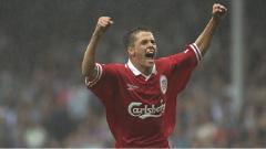 Indosport - Striker legendaris Liverpool, Michael Owen.