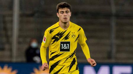 Pemain Borussia Dortmund, Giovanni Reyna. - INDOSPORT