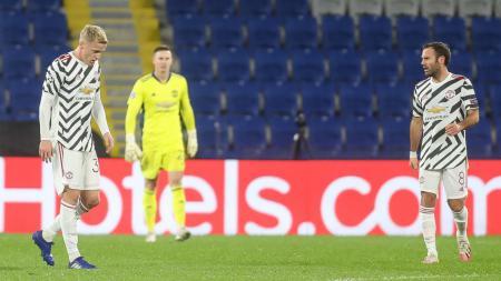 Raut penyesalan skuat Manchester United usai dikalahkan Istanbul Basaksehir di Liga Champions - INDOSPORT