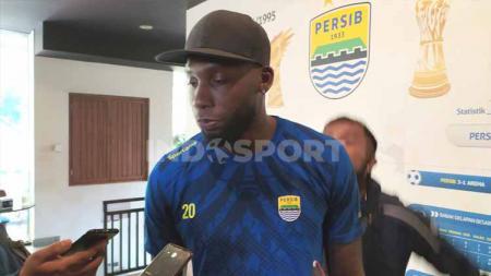 Striker Persib, Geoffrey Castillion, ditemui di Graha Persib, Jalan Sulanjana, Kota Bandung. - INDOSPORT