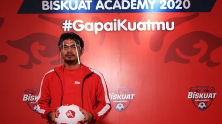 Legenda Timnas Indonesia dan juga Persija, Bambang Pamungkas memberikan sedikit ilmu guna menjadi pesepakbola yang sukses di acara Academy 2020 secara virtual. - INDOSPORT