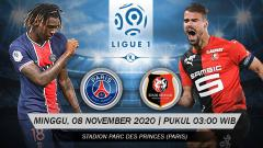 Indosport - Prediksi Pertandingan Ligue 1 Prancis: PSG vs Rennes