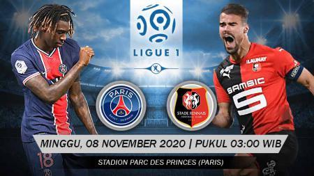 Prediksi Pertandingan Ligue 1 Prancis: PSG vs Rennes - INDOSPORT