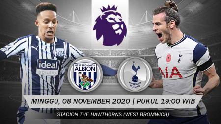 Pertandingan West Bromwich Albion vs Tottenham Hotspur (Liga Inggris). - INDOSPORT