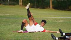 Indosport - Pemain muda Persija Jakarta, Muhammad Ferarri dipromosikan ke tim senior.