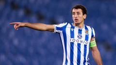 Indosport - Mikel Oyarzabal,pemain Real Sociedad.